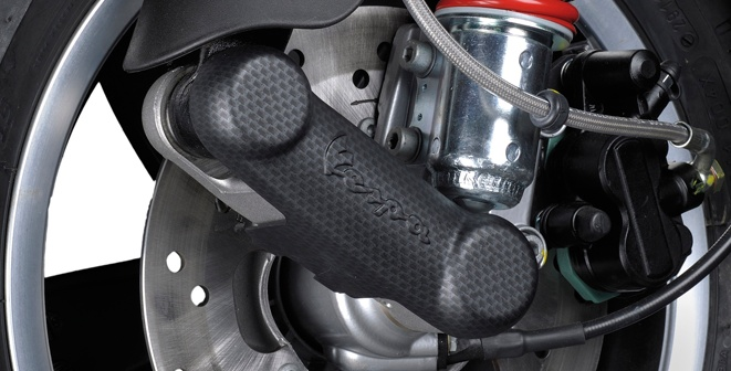 Accessories Suspension Cover, Carbon Fibre Look GTS/LX