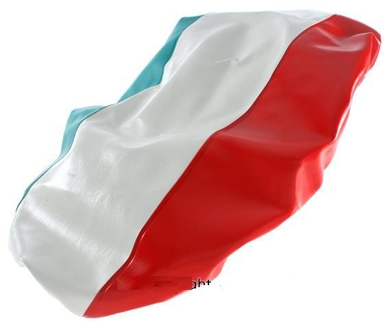 Parts Seat Cover, Italian Flag for GTS Saddle