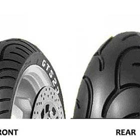 "Parts 120/70-12"" Pirelli GTS23 Front Tire"