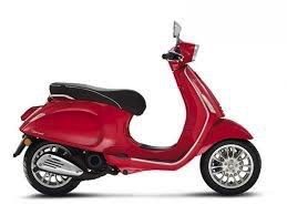 Vehicles 2016 Vespa Sprint 50 - 4V Dragon Red