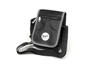 "Lifestyle Shoulder Bag Black ""The Worlds Finest Scooter"""