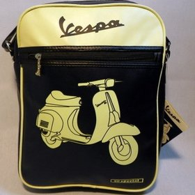 Lifestyle Shoulder Bag Vespa 50 Special Blue & Cream