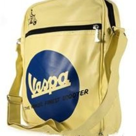 "Lifestyle Vespa Shoulder Bag ""The Worlds Finest Scooter"""