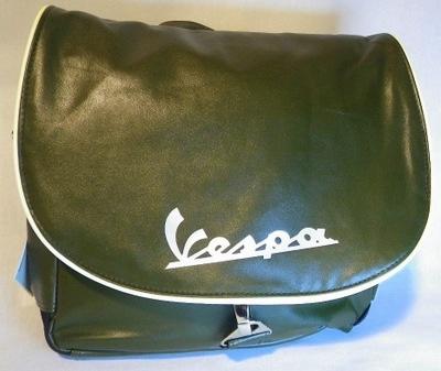 Lifestyle Vespa Logo Shoulder Bag Green