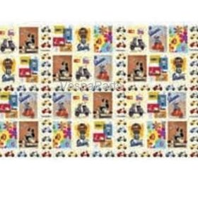 Lifestyle Wrapping Paper, Vespa Gift Wrap (700mm x 1000mm)