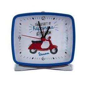 "Lifestyle Alarm Clock,  Blue Primavera ""The secret of happiness"""