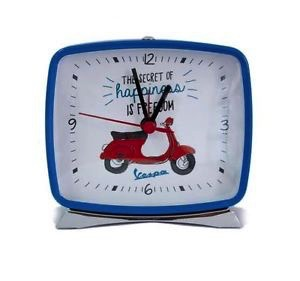 "Lifestyle Alarm Clock,  Blue Primavera ""The secret of happiness"""
