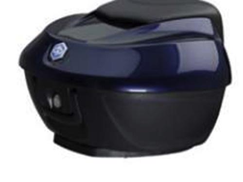 Accessories Top Case, BV350 36Ltr Ocean Blue/Black Backrest