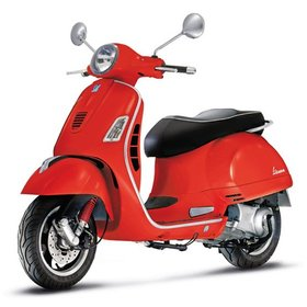 Vehicles Vespa, 2016 GTS300 Super ABS/ASR Dragon Red