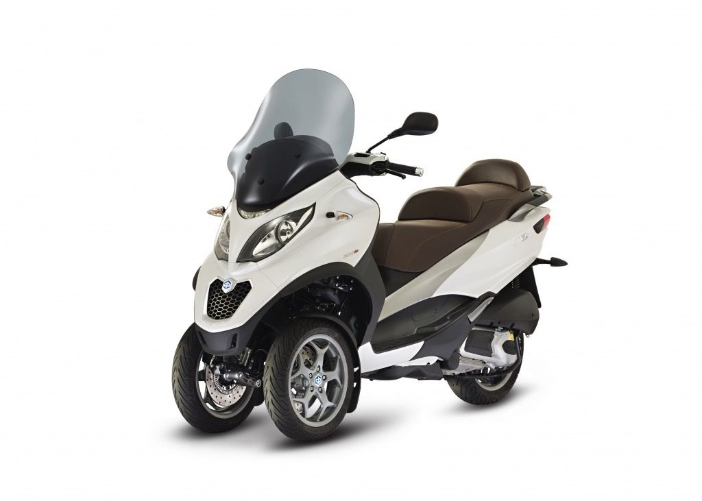 Vehicles Piaggio, 2016 MP3-500 Business Touring ABS/ASR White