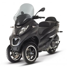 Vehicles Piaggio, 2016 MP3-500 Sport ABS/ASR Nero Carbonio