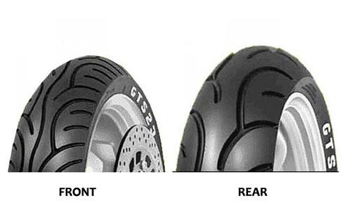 """Parts 130/70-12"""" Pirelli GTS24 Rear Tire"""