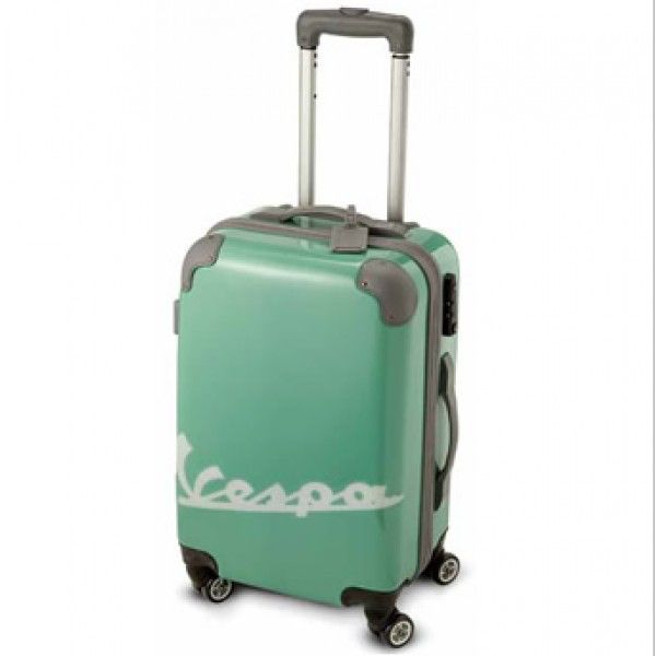 Lifestyle Vespa Carry-On Trolley in Green