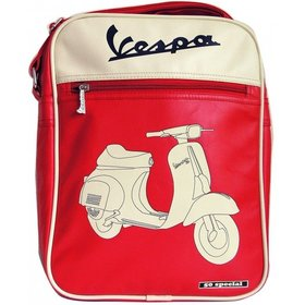 Lifestyle Shoulder Bag Red Vespa 50 Special