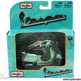 Lifestyle Toy, Vespa 1:18 Scale GTS Green