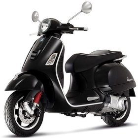Vehicles 2016 Vespa GTS300 Super ABS/ASR Black