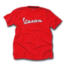 Apparel T-Shirt Men's Vespa 3M Strip Red X-Large