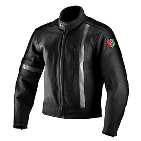 Apparel Jacket Corazzo Men's 5.0 Leather Black Large