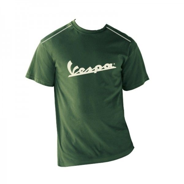 Apparel T-Shirt Men's Green Vespa Patch Large
