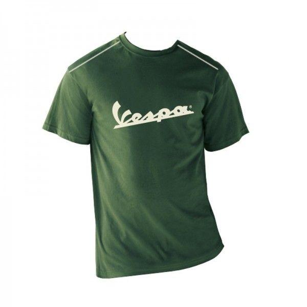 Apparel T-Shirt Men's Green Vespa Patch 2XL
