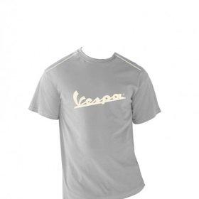 Apparel T-Shirt Men's Grey Vespa Patch Medium