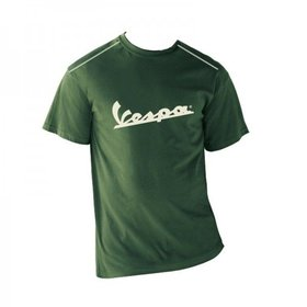 Apparel T-Shirt Men's Green Vespa Patch Medium