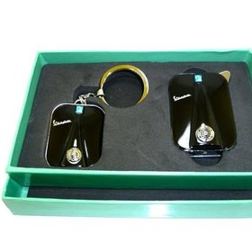 Lifestyle Gift Set, Keychain/Lighter Black Legshield