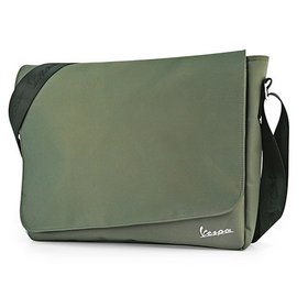 Lifestyle Shoulder/Messenger Bag Olive Vespa Badge