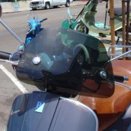 Accessories Windshield, GTV Smoked Medium