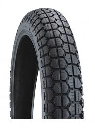 "Parts 80/90-16"" Duro Rear Tire"