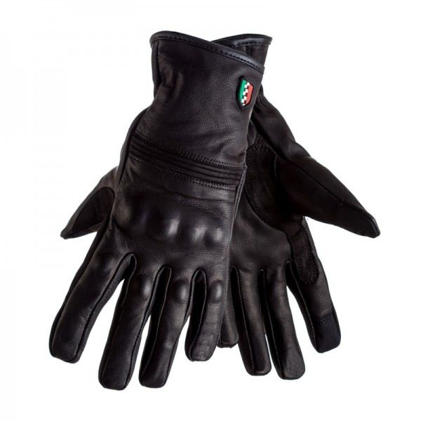 Apparel Glove Corazzo Leather Caldo Black Medium