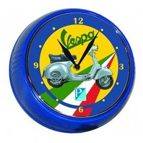 """Lifestyle Wall Clock Vespa GS Tri-Colore 9"""""""