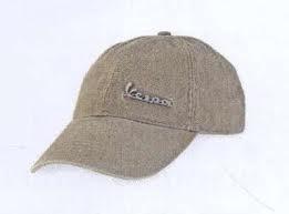 Apparel Ball Cap Beige Vespa Badge