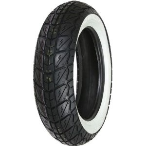 "Parts 120/70-12"" Shinko White Wall Front Tire"