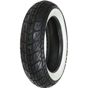 "Parts 130/70-12"" Shinko White Wall Rear Tire"