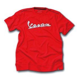 Apparel T-Shirt Men's Vespa 3M Strip Red Small