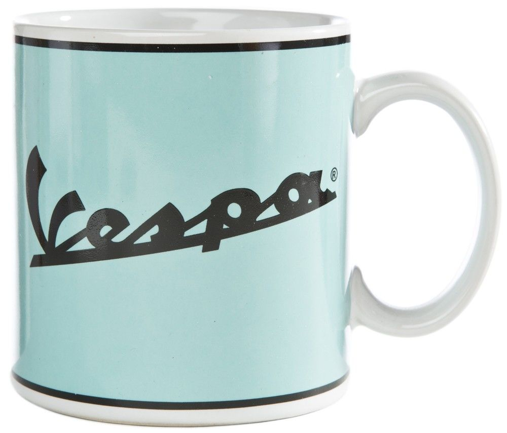 "Lifestyle Coffee Mug ""Vespa"" Logo Blue"