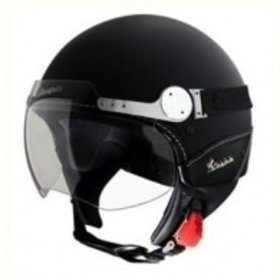 Apparel Helmet, Vespa GTS Super Sport Matt Black