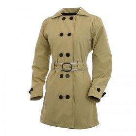 Apparel Jacket, Corazzo Women's Turiste Trenchcoat (Black or Stone)