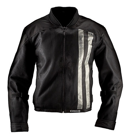 Apparel Jacket, Corazzo Venata Summer Mesh (Black, Silver or Red)