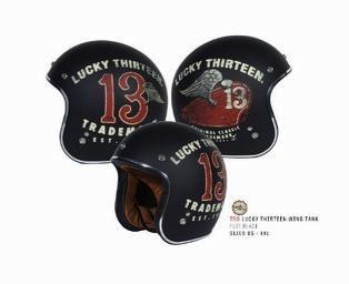 Apparel Helmet, TORC T50 Lucky13 (3 Styles)
