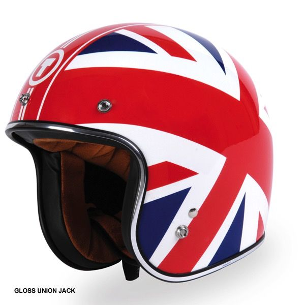 Apparel Helmet, TORC T50 Union Jack Gloss or Monochrome