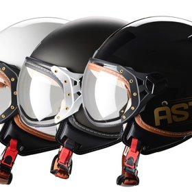 Apparel Helmet, ASTONE KSR w/Visor (11 colors)