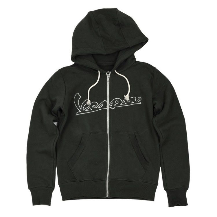 Apparel Hoodie, Women's Vespa Zip Up (Blue, Red or Green)