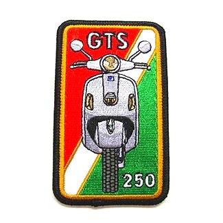 Lifestyle Patch, GTS Red/White/Green