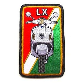 Lifestyle Patch, LX Red/White/Green