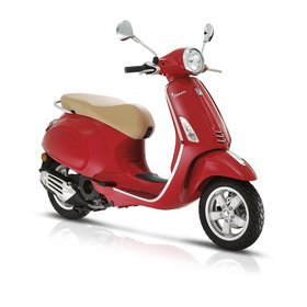 Vehicles 2017 Vespa Primavera 50 - 4V Red