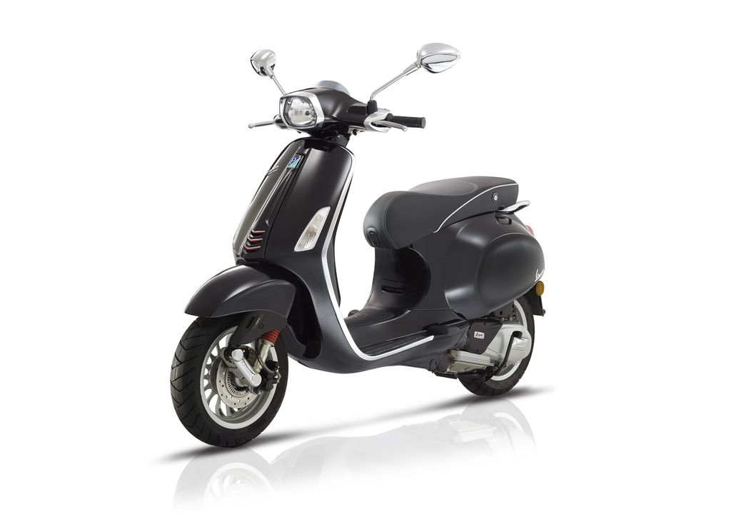 Vehicles 2017 Vespa Sprint 50 - 4V Nero Lucido