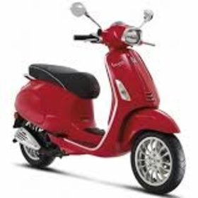 Vehicles 2017 Vespa Sprint 50- 4V Red