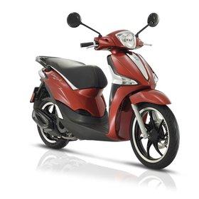 Vehicles 2018 Piaggio Liberty iGET 155cc ABS Rosso Metalizzato